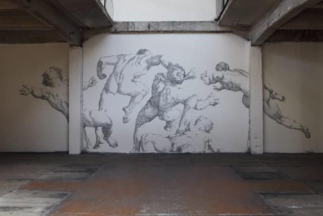 Renaissance Staple Murals by Baptiste Debombourg