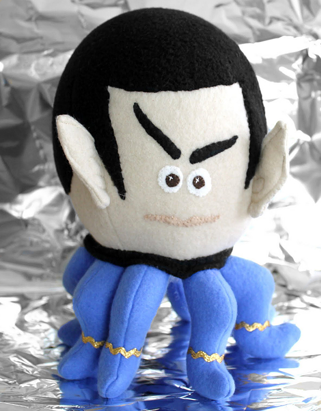 Star Trek Spock-topus Plush