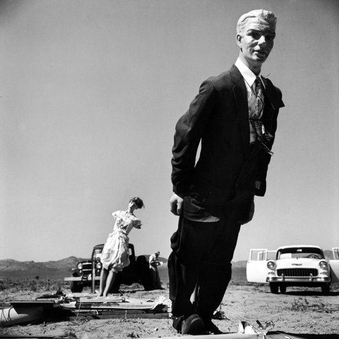 1955 atomic bomb test photos by LIFE