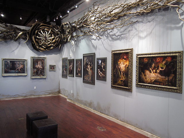 "Ransom & Mitchell's Solo Debut ""Smoke & Mirrors"" Exhibit at Varnish Fine Art"