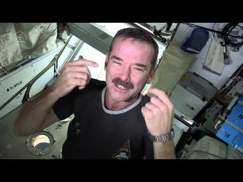 How to Clip Your Fingernails in Space