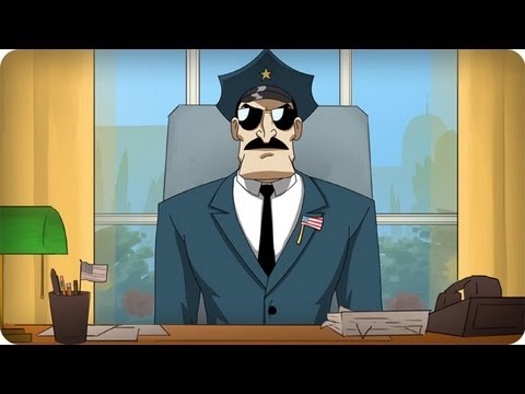 Axe Cop, Animated TV Series About a Crime Fighting Axe-Wielding Cop