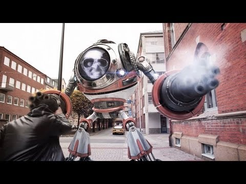 Boss Wave by Xilent, A Giant Robot Video Game Themed Music Video