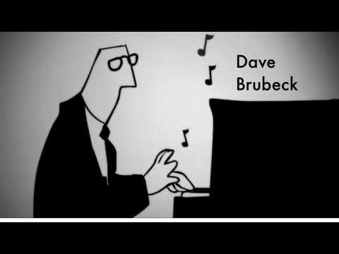 An Animation Dave Brubeck on Fighting Communism with Jazz