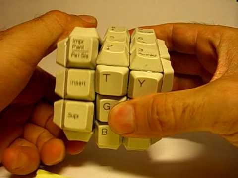 A Keyboard Rubik's Cube