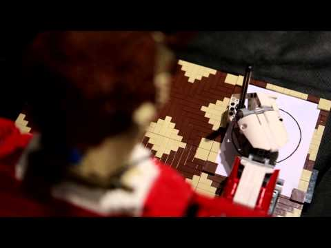 Legonardo, A Drawing Robot Made Entirely of LEGO Bricks