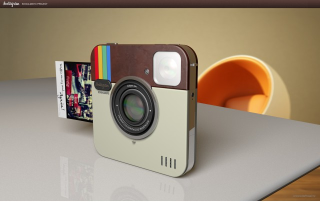 Instagram Socialmatic Camera by ADR Studio