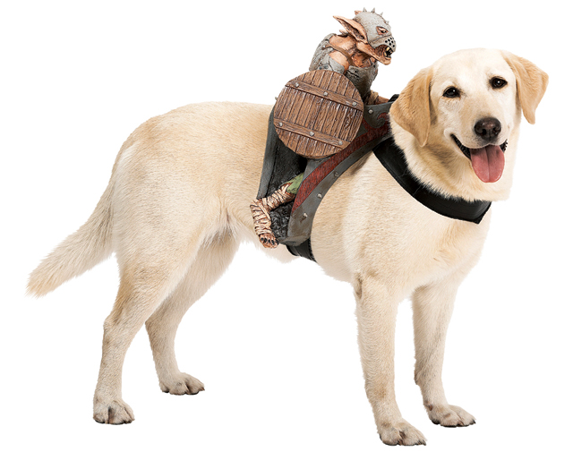 Dog Riders Goblin Orc Costume