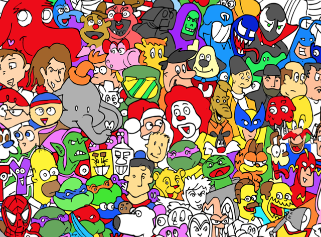 The Entire Cartoon Universe by Ray Sumser