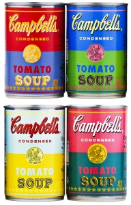 Campbell's Soup Limited Edition Andy Warhol Cans