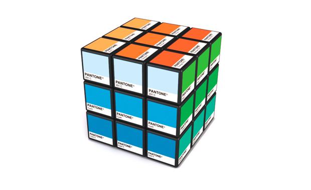 Rubitone, Pantone Color Rubik's Cube by Ignacio Pilotto