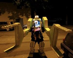 Aliens Power Loader Baby Costume - Halloween 2012