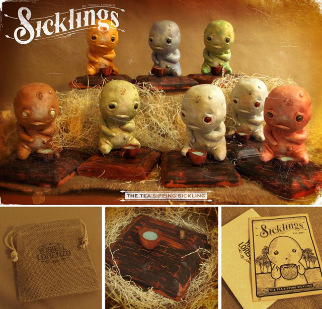 The Tea-Sipping Sicklings Series 3 by Yosiell Lorenzo