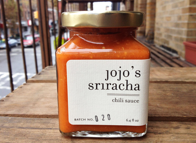 Jojo's Sriracha