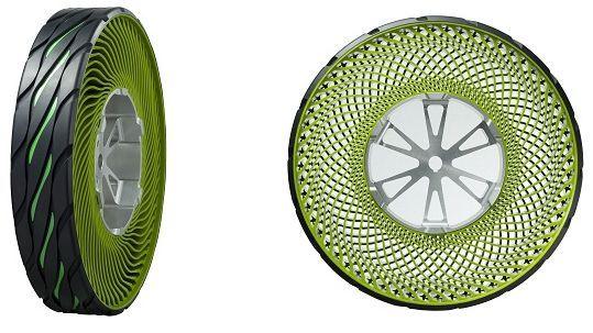 Air-Free Tire by Bridgestone