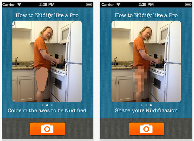 Nüdifier App Censors Your Photos With Strategically Placed Pixels