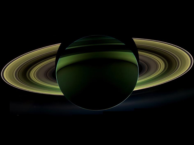 Saturn's Shadow