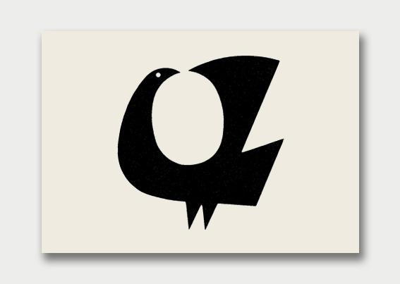 Modernist Bird-themed Logos