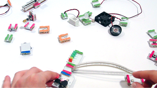 littleBits, Snap Together Circuit Boards