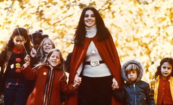 Marlo Thomas and kids