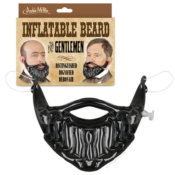 Inflatable Beard, An Instant Beard for Gentleman