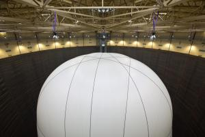 Big Air Package by Christo and Jean-Claude