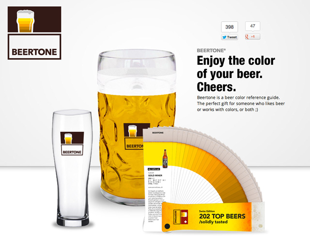 beertone a beer reference guide that looks like a color. Black Bedroom Furniture Sets. Home Design Ideas