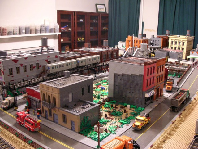Brooklyn Man Creating LEGO Version of Brooklyn in His Living Room