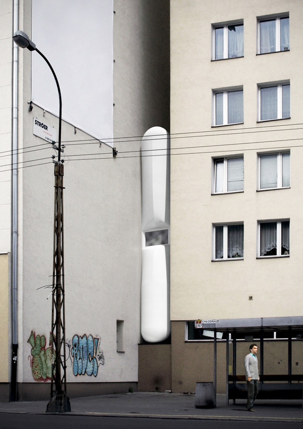 Keret House, World's narrowest house