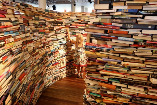 aMAZEme book labyrinth