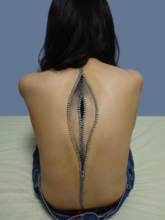 More Incredible Illusionary Makeup Body Art By Japan S Choo San