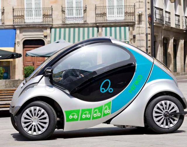 Hiriko Fold City Car
