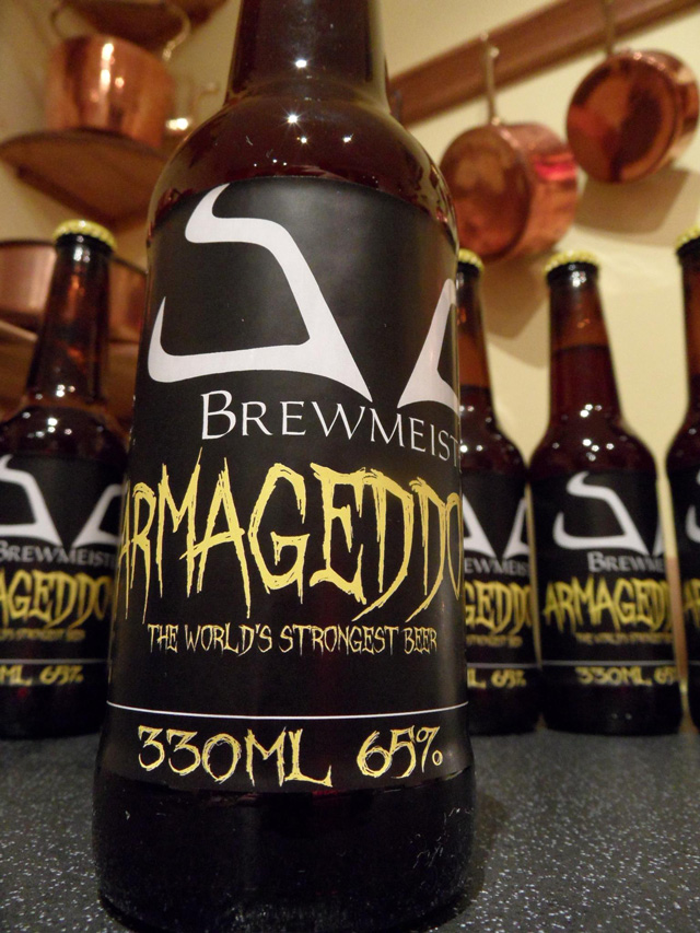 At 65% ABV (alcohol By Volume), Armageddon By Brewmeister Is Described As  U201cthe Worldu0027s Strongest Beer.u201d Typically Beers Are Under 10% ABV, ...