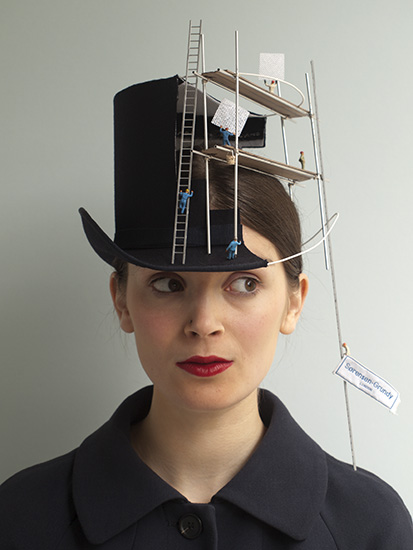 Construction Overhead hat by Sorenson-Grundy