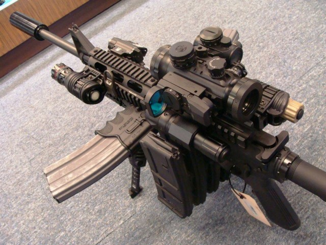 The Ultimate AR-15 Zombie Rifle