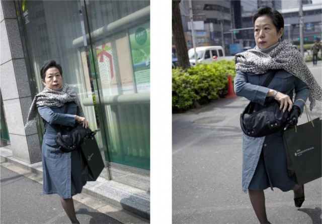 Tokyo Tokyo' Photo Series Shows One Moment from Two Angles