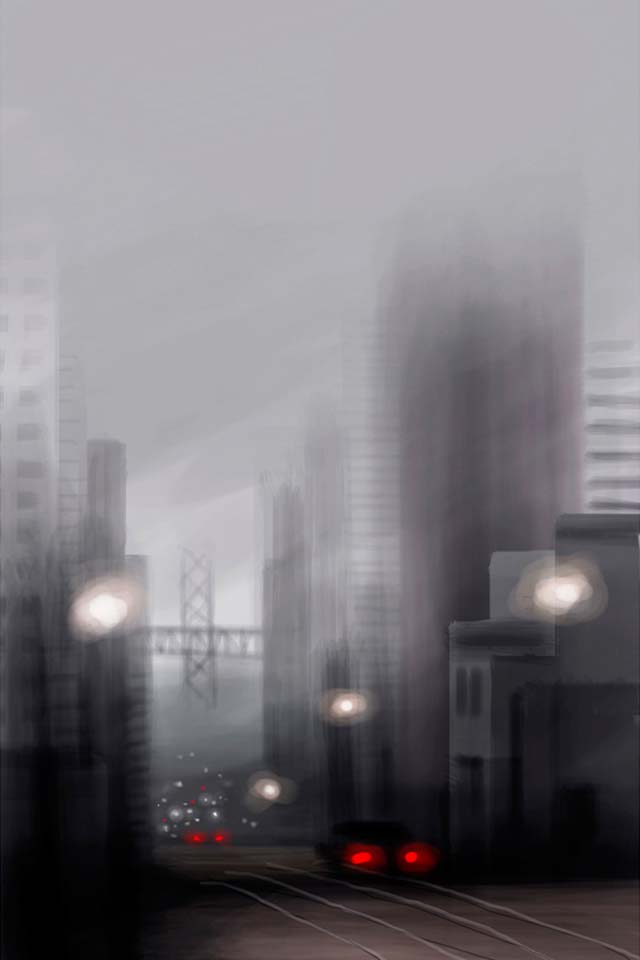 iPhone Finger Paintings by Jorge Colombo