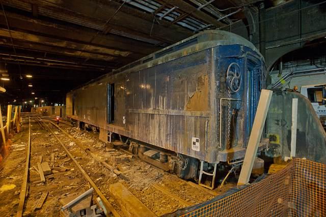 Track 61, FDR train car