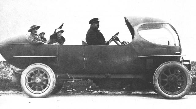 A.L.F.A. 40/60 HP Aerodinamica Prototype