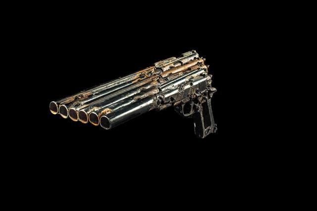 Imagine musical gun instruments by Pedro Reyes