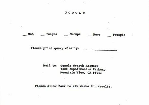 Google circa 1960