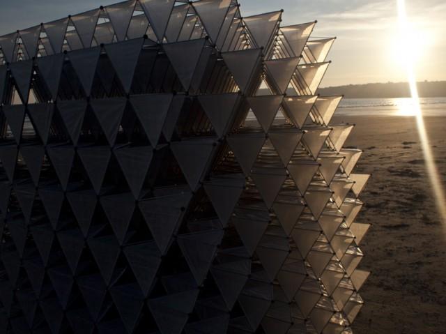 Three Cubes Colliding