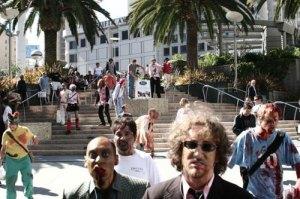 Zombie Flash Mob