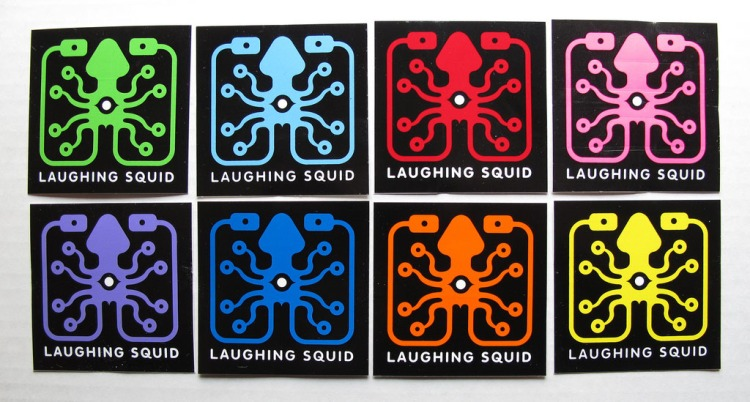 Laughing Squid Sticker Pack