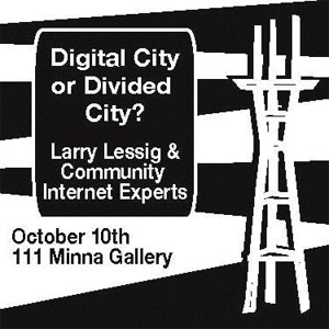 Lawrence Lessig on Wireless in SF