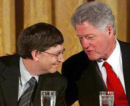 Bill Clinton, Microsoft CEO?
