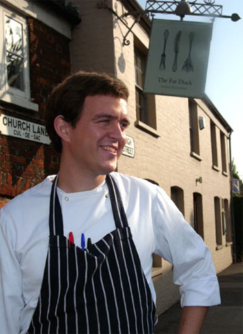 Marc Powell at The Fat Duck
