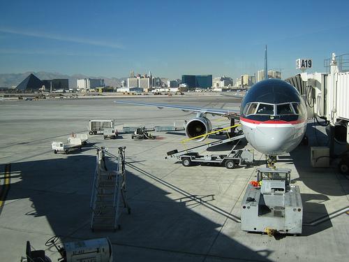 Layover at Las Vegas McCarran International Airport
