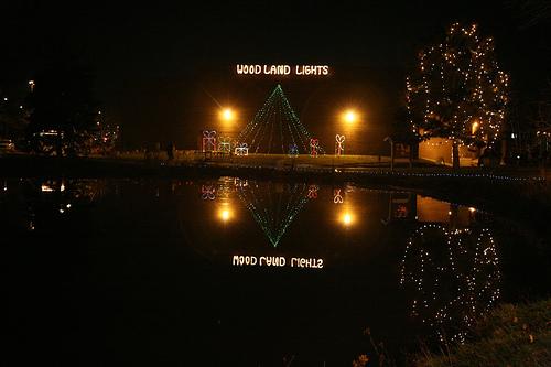 Washington Township Woodland Lights, Holiday Display in Dayton