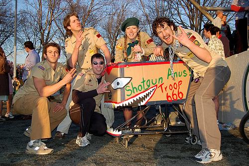 Carts of Brooklyn Racing Association Idiotarod 2007